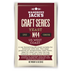 Gedroogde biergist US West Coast M44 - Mangrove Jack's Craft Series - 10 g