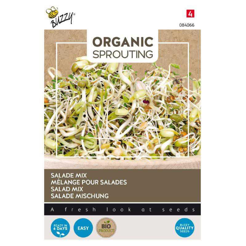 Organic Salade mengsel