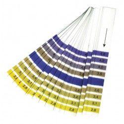 pH papier (lakmoes) 2,8 -...