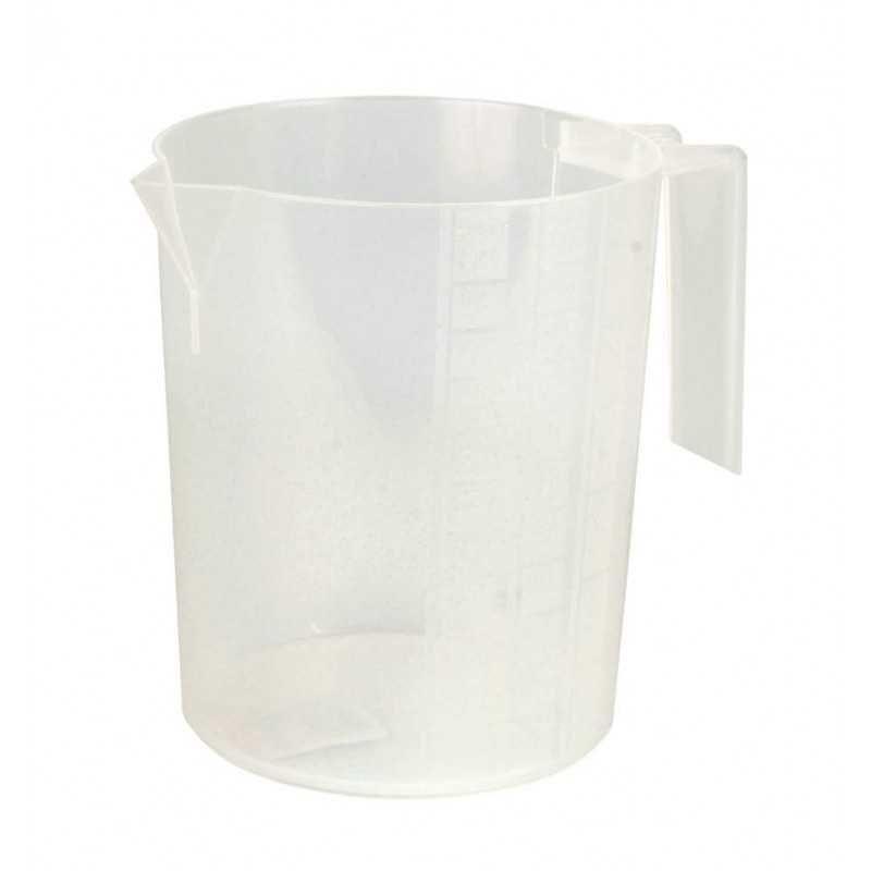 Maatbeker wit 1 liter