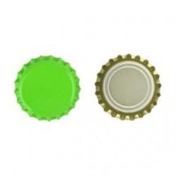 Kroonkurken 26 mm geel